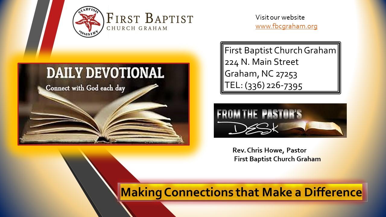 Daily Devotional (3-23-2020)