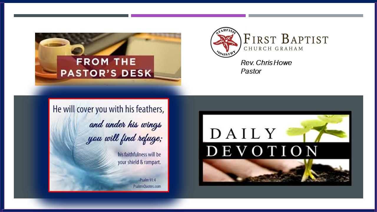 Daily Devotional (3-27-20)