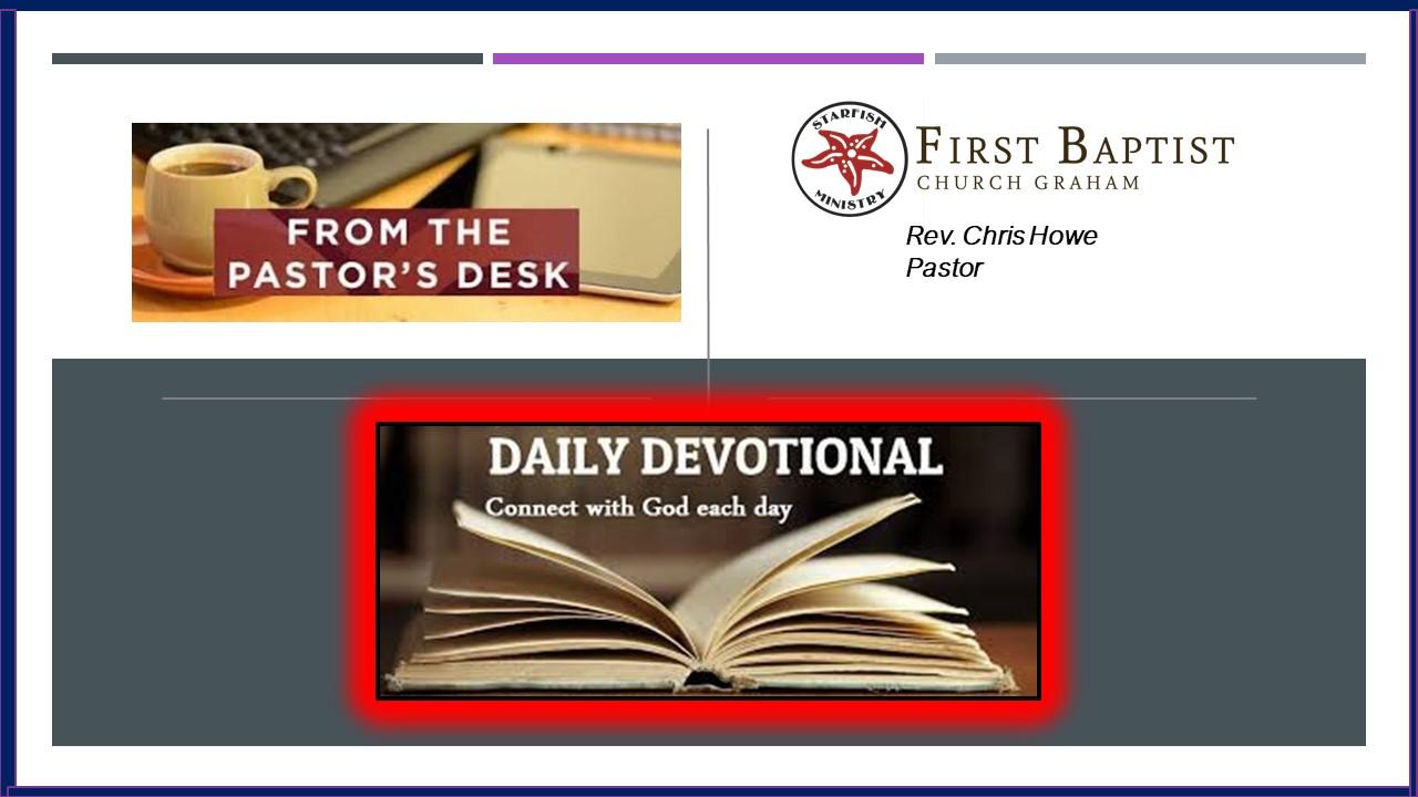 Daily Devotional (5-21-20)
