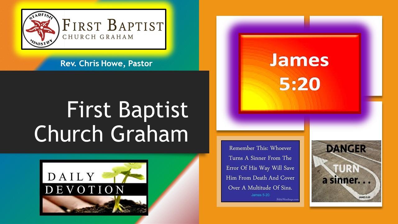 Daily Devotional (6-29-20)