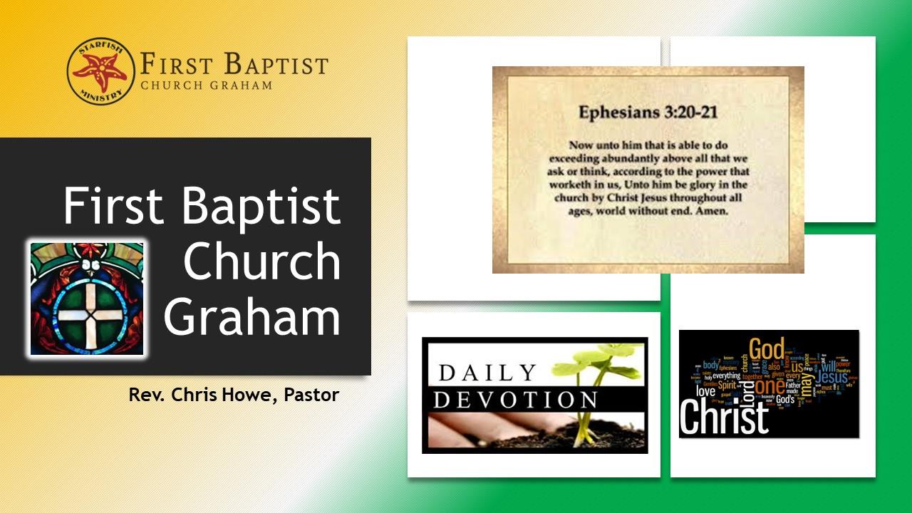Daily Devotional (9-14-20)