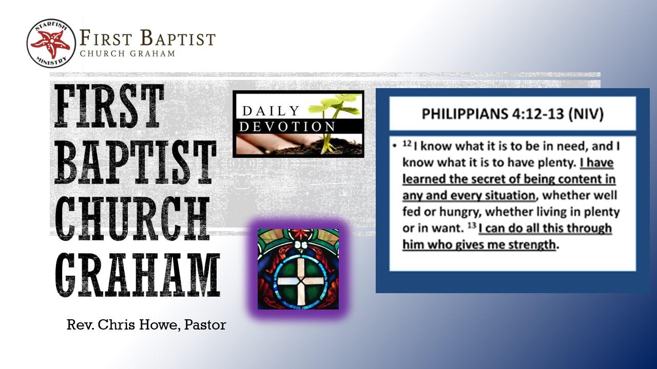 Daily Devotional (9-16-20)