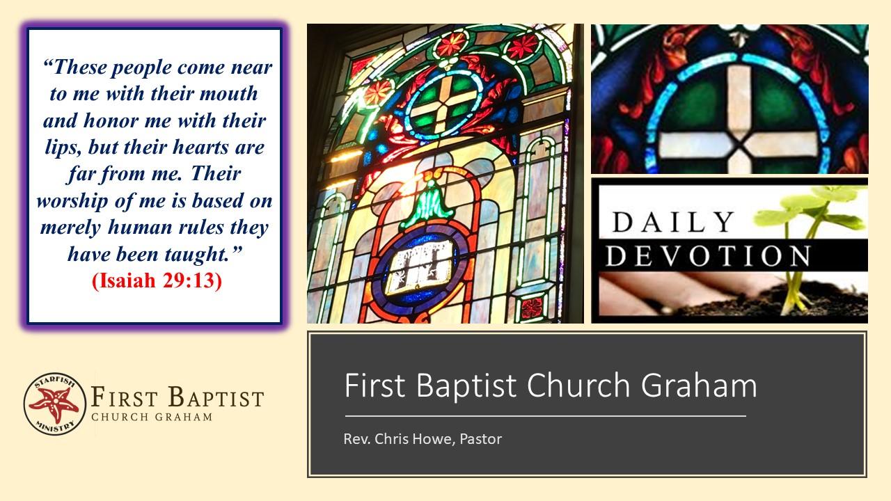 Daily Devotional (10-22-20)