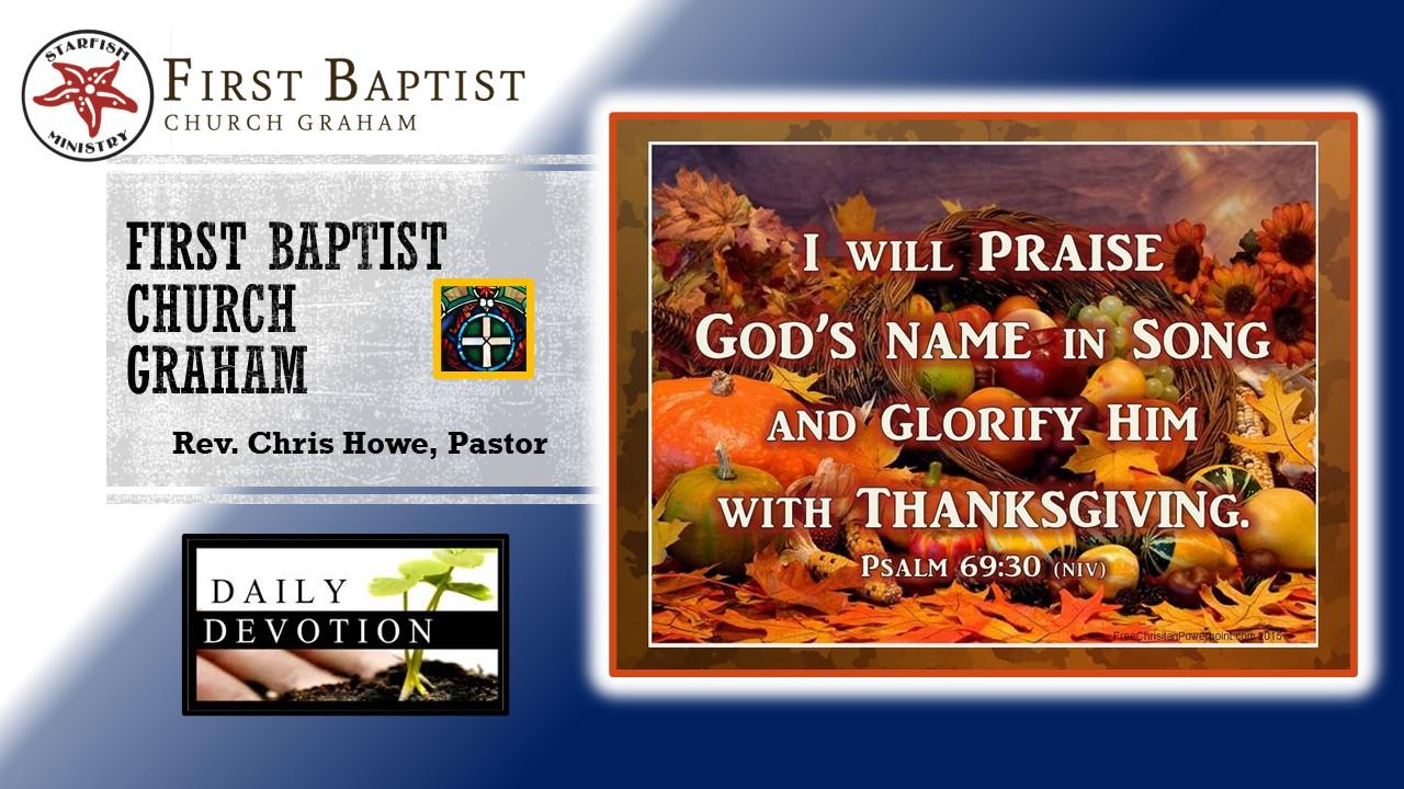 Daily Devotional (11-25-20)