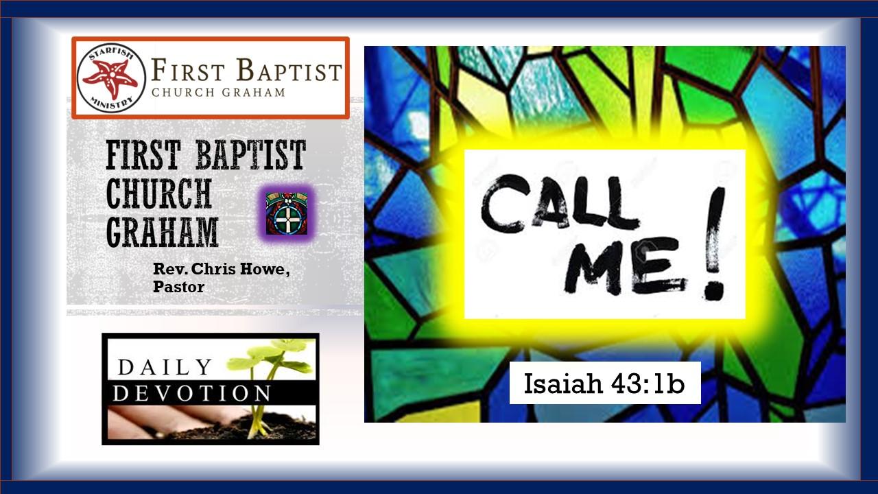 Daily Devotional (3-3-21)