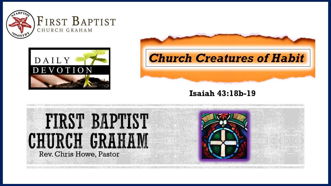 Daily Devotional (3-5-21)