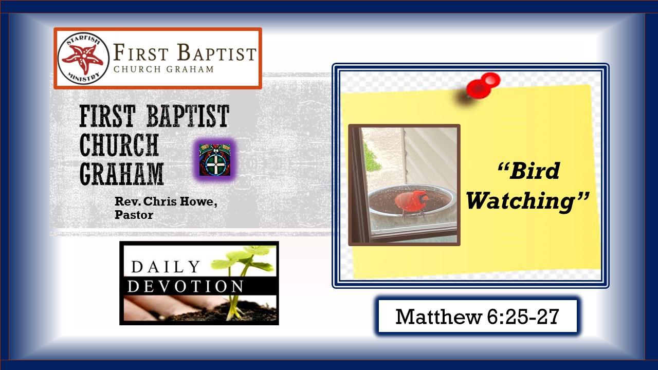 Daily Devotional (4-21-21)