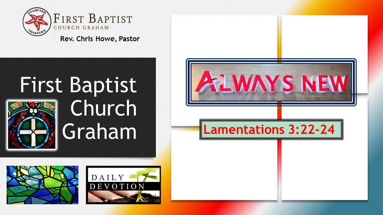 Daily Devotional (6-14-21)